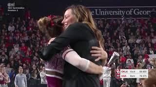 Anastasia Webb (Oklahoma) 2018 Vault vs Georgia 9.85