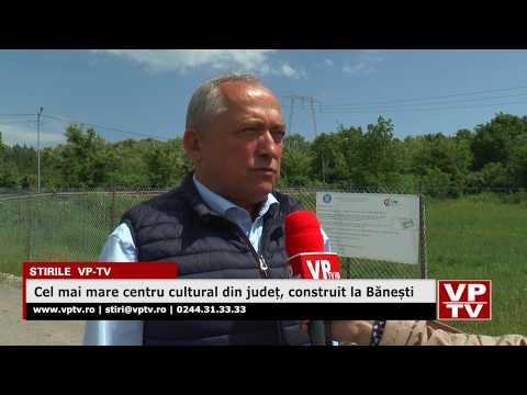Cel mai mare centru cultural din județ, construit la Bănești