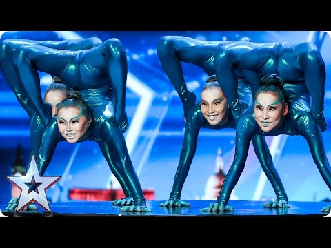 Utenomjordisk talent-opptreden skaper raseri i Storbritannia