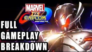 NEW BREAKDOWN: Marvel Vs. Capcom Infinite Gameplay, Ultron, Infinity Stones Game Mechanics and More