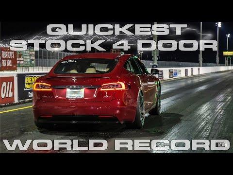 سيارة تسلا الجديدة تحقق رقم قياسي جديد في السرعة