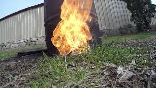 DJI Phantom 2 Battery Fire