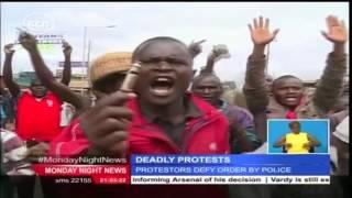 CORD principals lead peaceful anti-IEBC demonstrations in Nairobi CBD