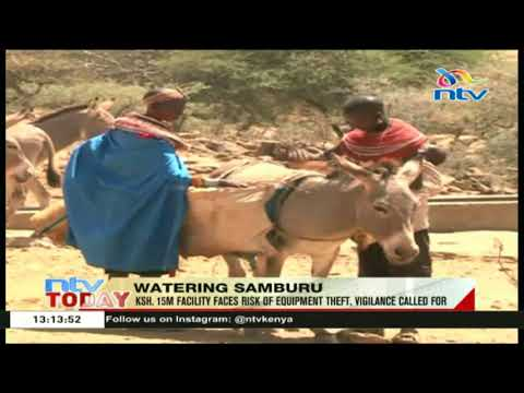Borehole project launched at Leng' eredel Samburu county