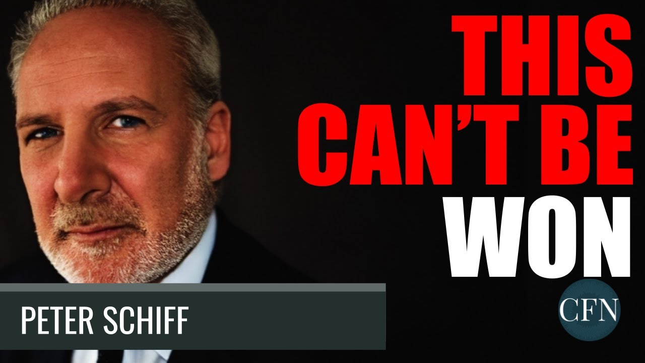 Peter Schiff: This Can't Be Won. It Will Crash Soon ... thumbnail