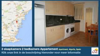 preview picture of video '3 slaapkamers 2 badkamers Appartement te Koop in Apartment, Algorfa, Spain'