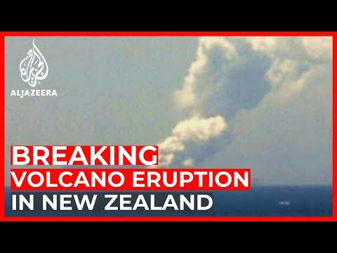 Tourists injured after volcanic eruption in New Zealand
