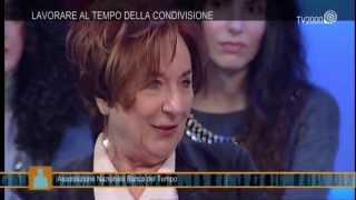 """""""Siamo noi"""" – Maria Luisa Petrucci, presidente dell'Associazione Nazionale Banche del Tempo"""