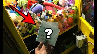 SOMEONE LEFT ME THIS AT MY ARCADE! + Filling My Claw Machine!!!   JOYSTICK