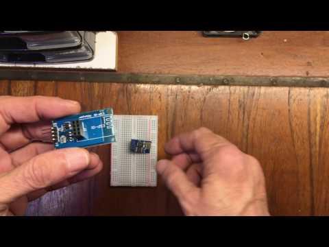 Banggood - ESP8266 ESP-01 Remote Serial Port WIFI Transceiver Wireless Module