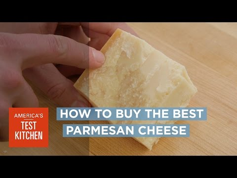 To Get The Tastiest Parmesan Cheese, Buy Close To The Rind