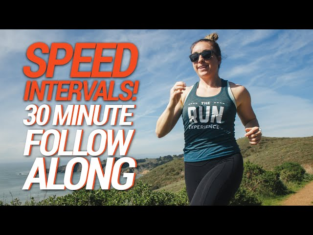 30-Minute Follow Along Workout   Intervals to Boost Your Speed!