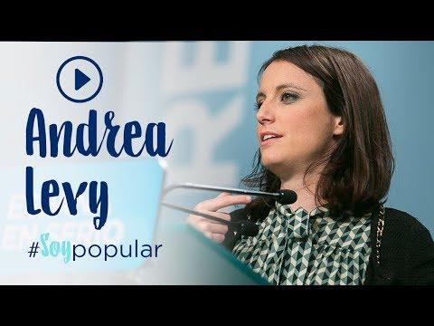 Andrea Levy se une a la campaña #SoyPopular