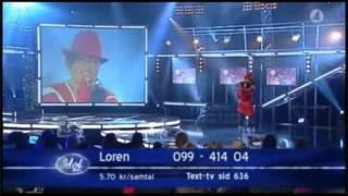 Loreen - Vill ha dig (Swedish Idol)