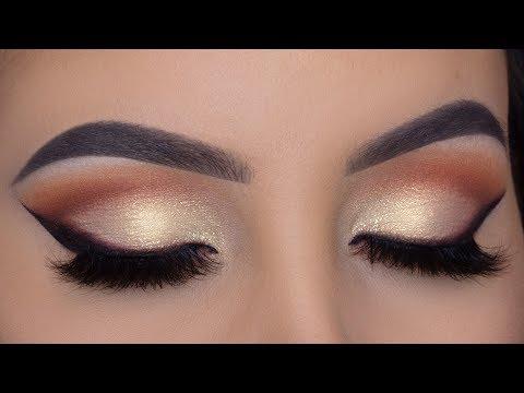 Classic Soft Golden Makeup Tutorial   Perfect Bridal Eye Makeup