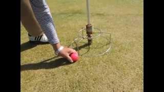 グラウンドゴルフ反則打法
