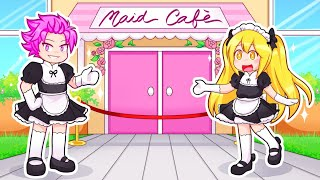 The Squad Opens Their Own MAID Cafe In Roblox!