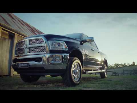 YouTube Video of the The Legendary Ram Truck  - now here in Australia