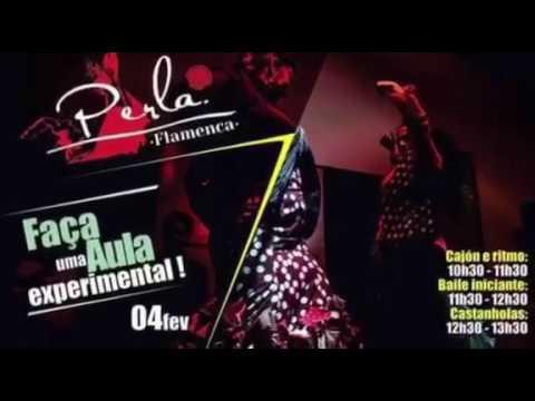 Aulas no estúdio Perla Flamenca