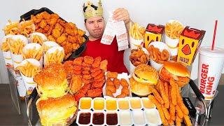 $100 Worth of Burger King • MUKBANG
