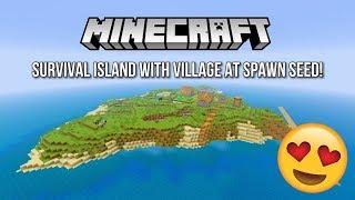 minecraft survival island seed with village ps4 - Thủ thuật máy tính