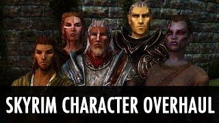 Skyrim Mod: Windsong Skyrim Character Overhaul