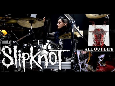 Slipknot All Out Life Drum Cover By Fernando Lemus