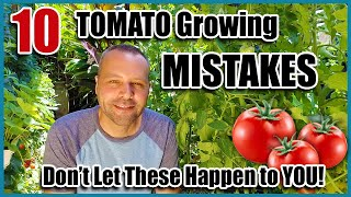 Tomato Growing Mistakes - How To Avoid Or Fix Them...How To Grow Tomatoes.