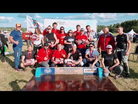 Дружеский турнир по мас-рестлингу в Подмосковье