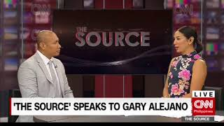 'The Source' speaks to Magdalo Rep. Gary Alejano