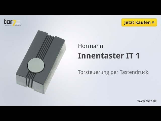 Produktvideo Hörmann Innentaster IT 1