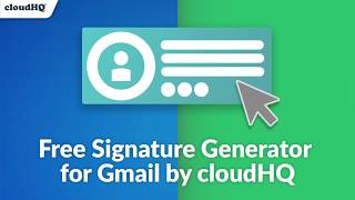 How to Create a Free Email Signature with logo, social media icons, a calendar meeting link & video