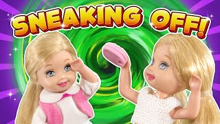 Barbie - Sneaking Off to the Sleepover | Ep.323