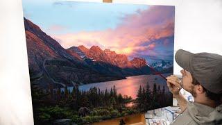 Landscape Painting Time-lapse   A Lasting Impact