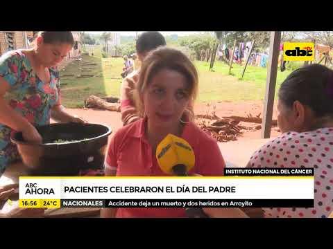 Pacientes del Incan celebraron el Día del Padre