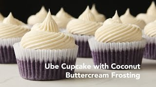 Ube Cupcakes With Coconut Buttercream Frosting Recipe | Yummy Ph