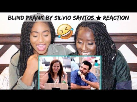 *HILARIOUS* Canadians REACT to Blind Prank by Silvio Santos (Brazilian Prank)