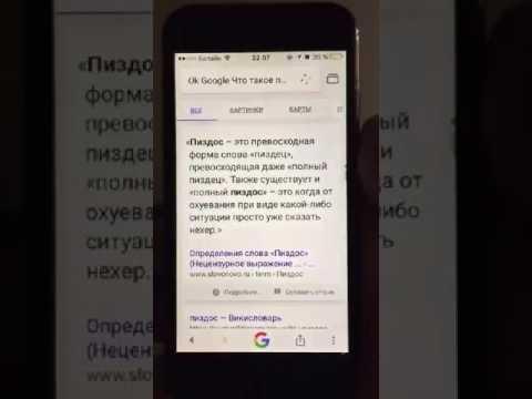 """Окей, Google """"Что такое пиздос?"""""""