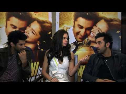 Up close and personal with Yeh Jawaani Hai Dewaani cast (видео)