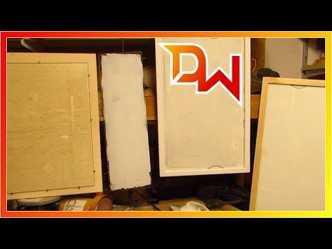 Schreibtafeln aus alten Kühlschrankböden
