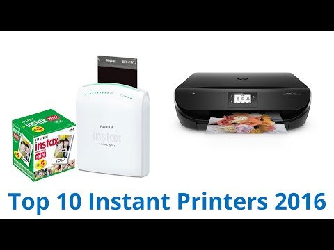 10 Best Instant Printers 2016