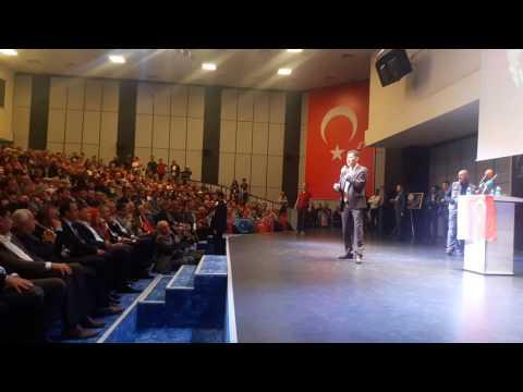 Sinan Oğan hayır için Antalya'da