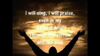 I WILL SING-Don Moen (worship)