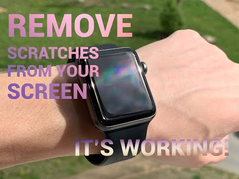 100% Works!! How to Remove all Scratches from your Apple Watch | iPhone | Phone