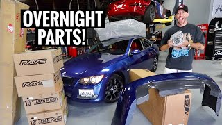 Turning a $5000 BMW 335i into a $50,000 BMW! by TJ Hunt