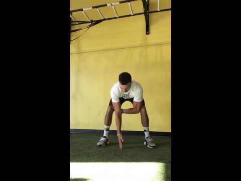Standing T-Rotation Balance