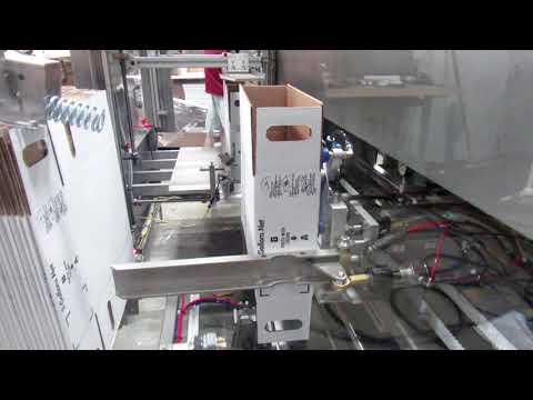 Formadora de cajas 2-EZ HS HM para cajas de bebidas tipo FOL