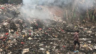 video: How British councils are sending recycling to Indonesia, where it is burnt on unauthorised dumps