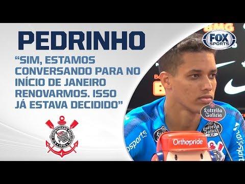 CORINTHIANS AO VIVO! Veja entrevista coletiva de Pedrinho