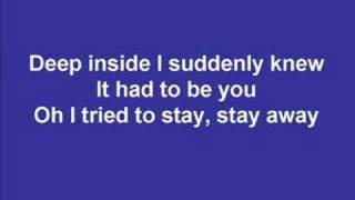 Boyzone - I'll be there (lyrics + pics)